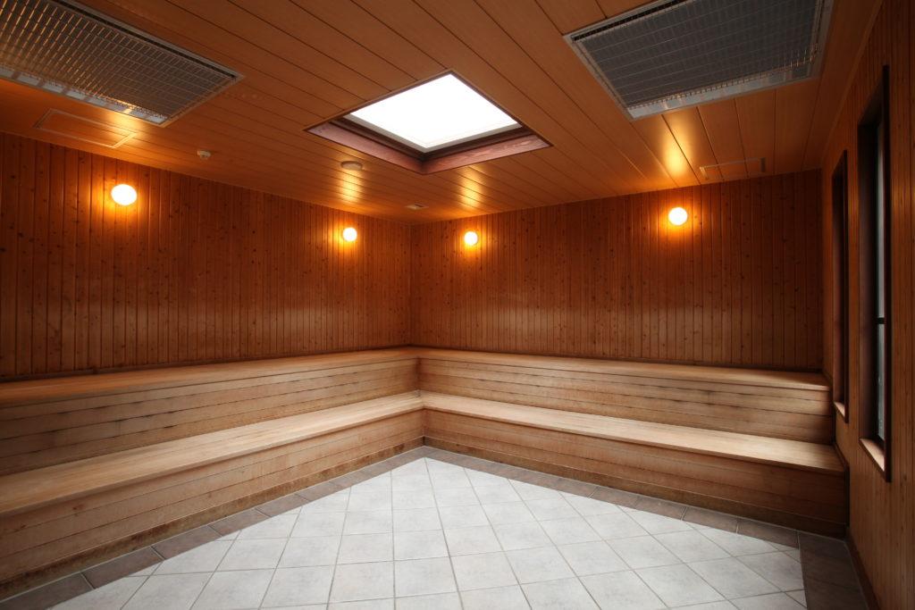 丹波山温泉 のめこい湯の保温室