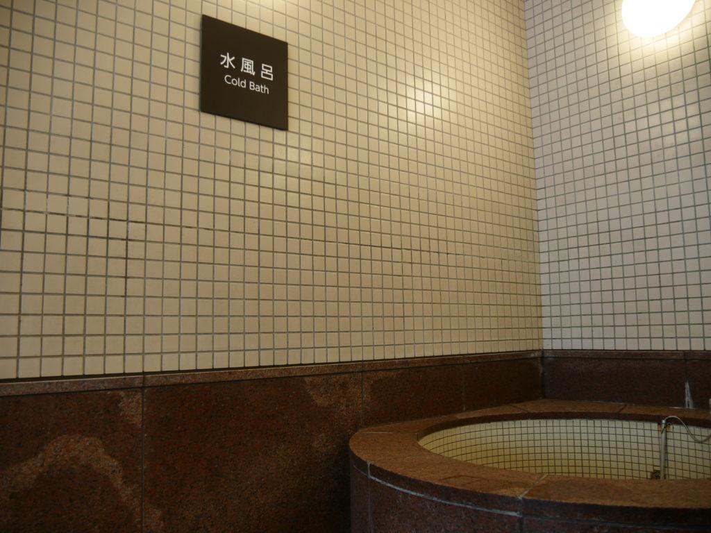 丹波山温泉 のめこい湯の水風呂